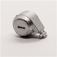 Steady-Cam Gun: Ammo Drum SILVER Version - 1:18 Scale Weapon Accessory for 3 3/4 Inch Action Figures