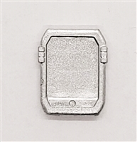 Smartpad / Computer Tablet: SILVER Version - 1:18 Scale MTF Accessory for 3 3/4 Inch Action Figures