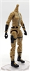 "MTF Female Valkyries Body WITHOUT Head DARK TAN & BLACK ""Sierra-Ops"" Version BASIC - 1:18 Scale Marauder Task Force Action Figure"