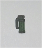 "Grenade - ""Flashbang"" Stun Type GUN-METAL & GREEN Version - 1:18 Scale Weapon for 3 3/4 Inch Action Figures"