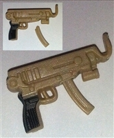 SKORPION Machine Pistol with Mag TAN Version - 1:18 Scale Weapon for 3-3/4 Inch Action Figures