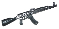 AK-47 Assault Rifle - 1:18 Scale Weapon for 3 3/4 Inch Action Figures