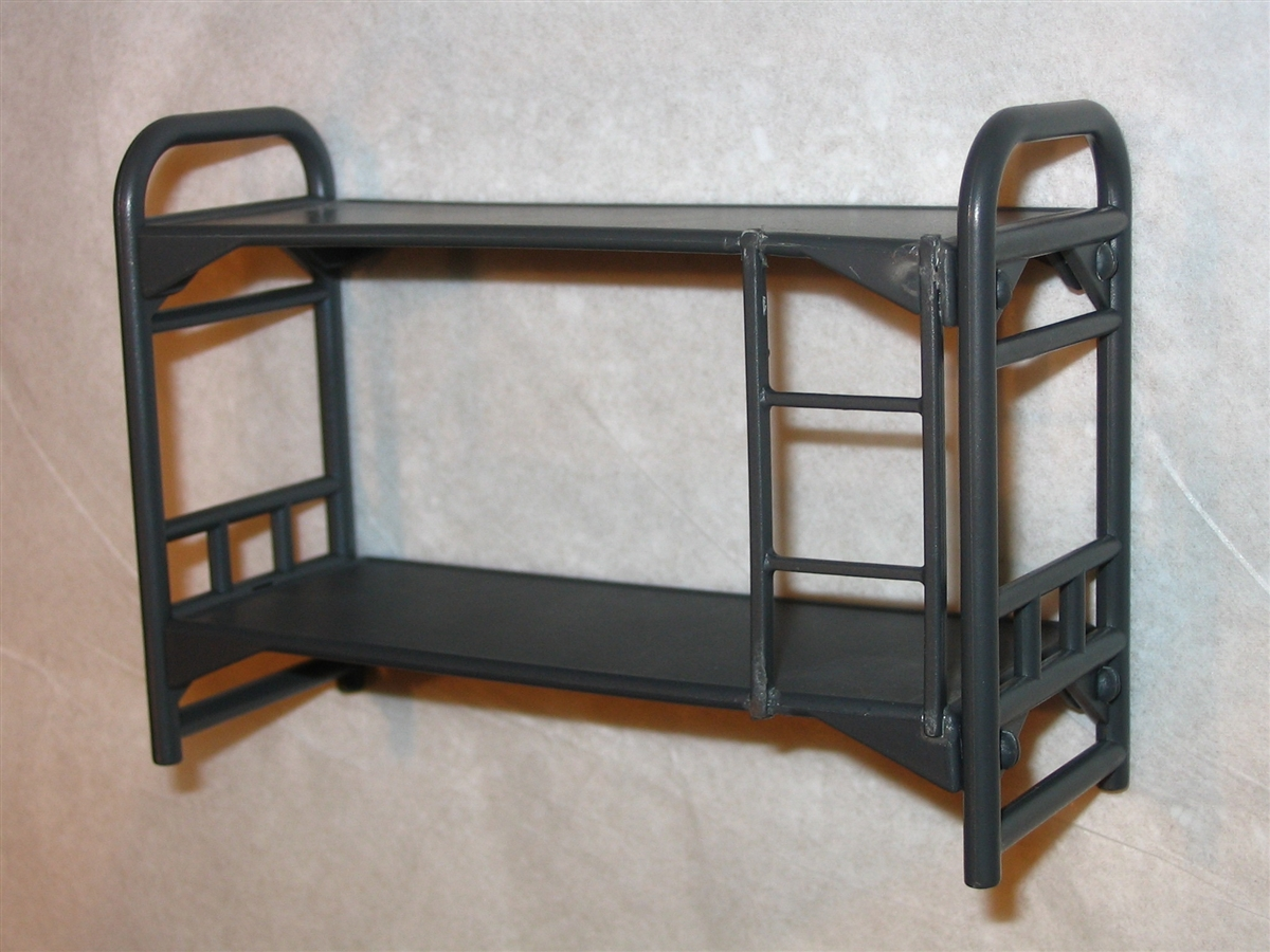 Bunk Beds 1 1 18 Scale Accessory For 3 3 4 Inch Action Figures