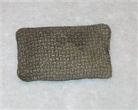 Sandbag (1) - 1:18 Scale Accessory for 3 3/4 Inch Action Figures