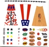 Marauder Task Force Baseball Bat Designs - Die-Cut Sticker Sheet - 1:18 Scale Accessories for 3 3/4 Inch Action Figures