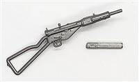 British Sten Mark 3 Machine Gun - 1:18 Scale Weapon for 3-3/4 Inch Action Figures