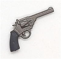 British Webley Revolver Pistol - 1:18 Scale Weapon for 3-3/4 Inch Action Figures
