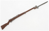 Japanese Arisaka Rifle with Bayonet  (Type-99) - 1:18 Scale Weapon for 3-3/4 Inch Action Figures