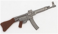 "German MP44 Stg44 ""Sturmgewehr 44"" Assault Rifle - 1:18 Scale Weapon for 3-3/4 Inch Action Figures"