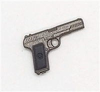 Russian Tokarev TT-33 Automatic Pistol - 1:18 Scale Weapon for 3-3/4 Inch Action Figures